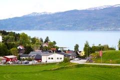 Lago Snaasa fotografia de stock royalty free