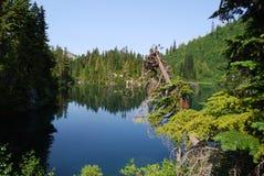 Lago snow Imagen de archivo libre de regalías