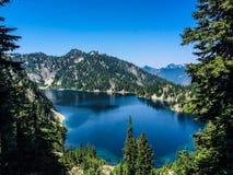 Lago snow Imagem de Stock