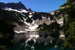 Lago snow Fotos de archivo