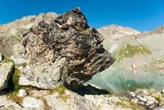 Lago sofia en Arkhyz Fotografía de archivo