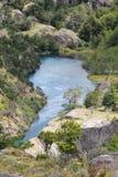 Lago south America Imagen de archivo