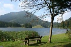 Lago Spitzing Imagem de Stock
