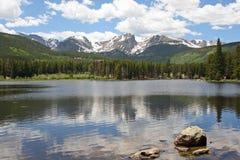 Lago Sprague in Colorado Fotografia Stock Libera da Diritti