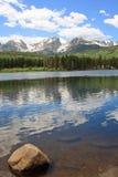 Lago Sprague em Colorado Foto de Stock