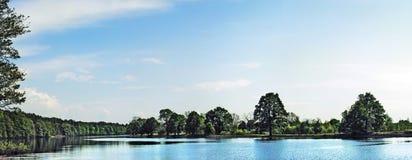 Lago spring Fotografie Stock Libere da Diritti