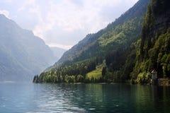 Lago spring, Svizzera Fotografia Stock Libera da Diritti