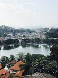 Lago Sri Lanka Kandy Foto de Stock