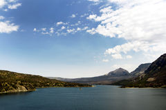 Lago Ssint Mary Fotografia de Stock