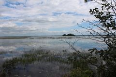 Lago St Francis canada Foto de archivo libre de regalías