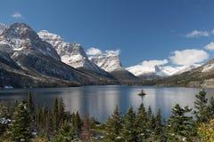 Lago St Mary Imagem de Stock