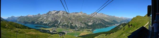 Lago St Moritz Fotografia de Stock Royalty Free