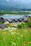 Lago St Wolfgang, Áustria imagens de stock royalty free