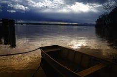 Lago Starnberg Fotografia Stock Libera da Diritti