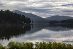 Lago stockade Fotos de archivo