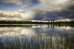 Lago sueco imagenes de archivo