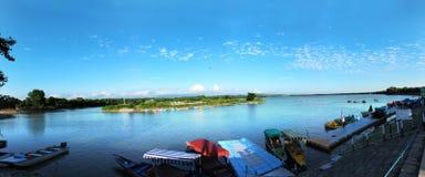 Lago Sukhna Imagem de Stock Royalty Free