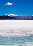 Lago sul de Chabyer Co Foto de Stock