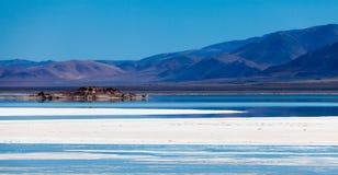 Lago sul de Chabyer Co Imagem de Stock