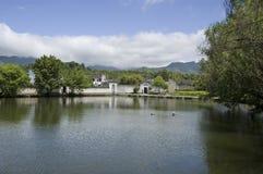 Lago sul 2 Hongcun Imagens de Stock Royalty Free