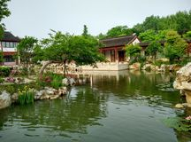 Lago sul província em jiaxing, zhejiang, China, em 2015 Imagens de Stock