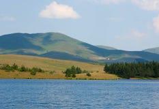 Lago sul supporto Zlatibor fotografia stock libera da diritti