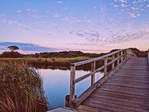 Lago Sulffolk, Byron Bay, NSW, Austrália Foto de Stock