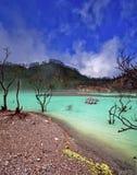 Lago sulphur Fotografia Stock Libera da Diritti