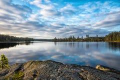 Lago summer Fotografia Stock