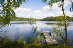 Lago summer Fotografia de Stock