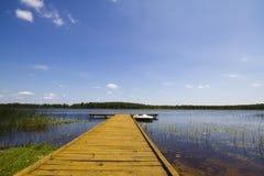 Lago summer, Pierce Imagenes de archivo