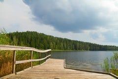 Lago summer, Pierce fotos de archivo libres de regalías