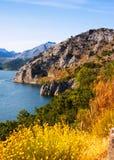 Lago summer Reservatório do de Luna dos bairros Foto de Stock Royalty Free