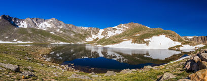 Lago summit Foto de archivo