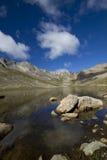 Lago summit de Evans CO da montagem imagem de stock