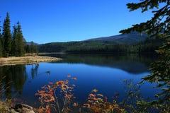 Lago superior Payette na queda Imagens de Stock Royalty Free