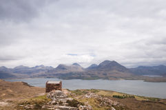 Lago superior Torridon Fotos de archivo libres de regalías