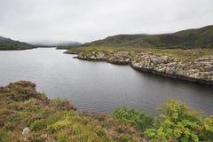Lago superiore nel parco nazionale di Killarney Fotografia Stock