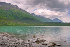 Lago superiore trail Fotografia Stock