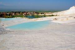 Lago surpreendente da soda (bicarbonato de sódio) imagens de stock royalty free