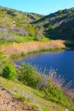 Lago surpreendente em montanhas de Crimeia Foto de Stock Royalty Free