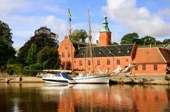 Lago svedese Fotografia Stock Libera da Diritti