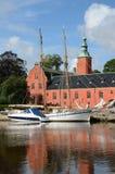 Lago svedese Fotografie Stock Libere da Diritti