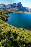 Lago svizzero fotografie stock