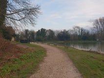 Lago Swanbourn foto de archivo