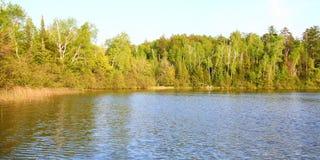 Lago Sweeney - Wisconsin fotografia de stock