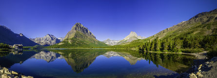 Lago Swiftcurrent Imagem de Stock Royalty Free