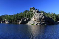 Lago Sylvan Fotografia Stock Libera da Diritti