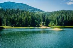 Lago Synevir Fotografia de Stock