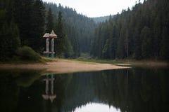 Lago Synevyr imágenes de archivo libres de regalías